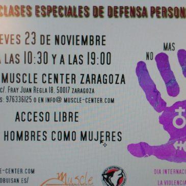 Clase Especial Día Internacional de la Eliminación de la Violencia contra la Mujer